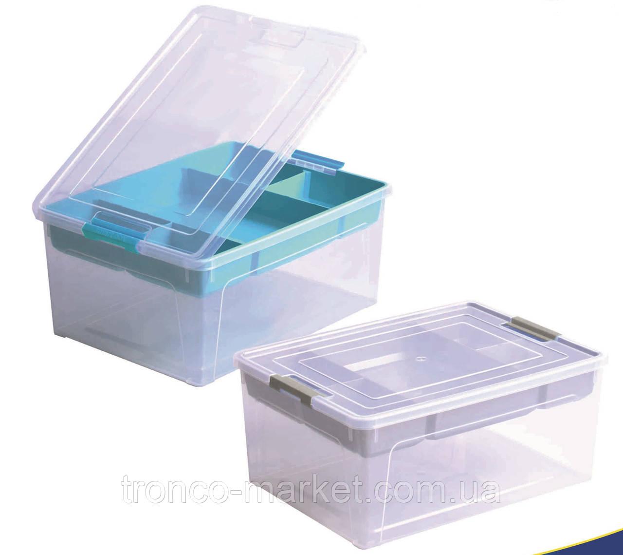 "Контейнер ""Smart Box"" з органайзером 3,5 л Алеана"