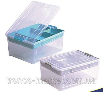 """Контейнер """"Smart Box"""" з органайзером 3,5 л Алеана, фото 2"""