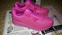 Стильные розовые кроссовки копия бренда в наличии 38 Р