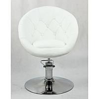 Кресло парикмахерское HC-8516H белое