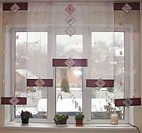 Японские панельки Ромбы сиренево-розовые, фото 1