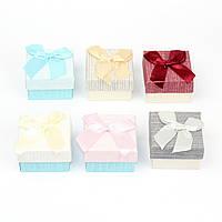 Подарочная коробочка под кольцо из дизайнерского картона