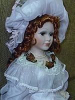 Кукла фарфоровая 56см высота