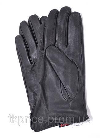 Мужские кожаные перчатки на плюшевой подкладке, фото 2