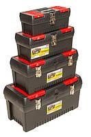 """Ящики для инструмента, пласт, замки, набор 4 шт. (12.5"""" /16"""" /19"""" / 24"""") HouseTools 79K335"""