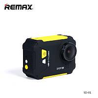 Экшн камера Remax Waterproof Wi-Fi SD-01 Yellow