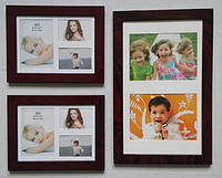 Набор из 3 рамок для 8 фото Small set Brown