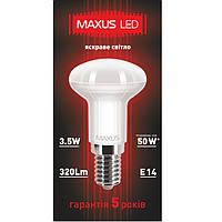 LED лампа MAXUS 3.5W 4100K R39 Е14 220V (1-LED-360)