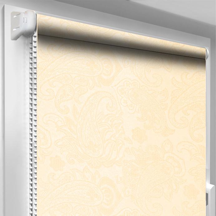 Рулонная штора DecoSharm Арабеска 2070 Крем