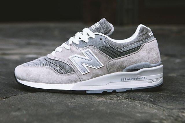 8dd3115cb Мужские кроссовки New Balance 997 Gray Made in USA(ТОП РЕПЛИКА ААА+) ...