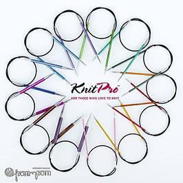 Спицы круговые на леске 60 см.Zing KnitPro