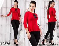 Модный  женский костюм (блуза+лосины) размер 42-44,44-46