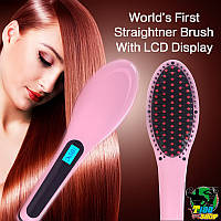 Автоматическая расческа-выпрямитель Fast Hair Straightener, Расческа для выравнивания волос Фаст Хаир