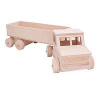 Игрушка деревянная грузовик
