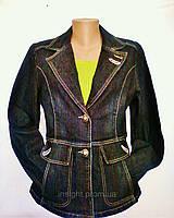 Куртка-жакет женская джинсовая, р.44,46
