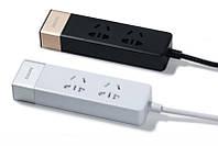 Сетевой фильтр Remax RU-S3 2 розетки + 3 USB Black 1.5m