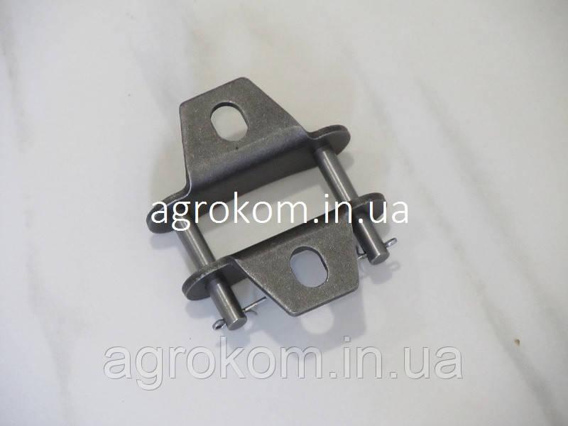 329859M91 Звено соединительное с лапками крепления внешнее (шаг 41,4мм)