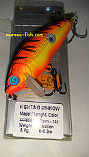 Воблер German Fighting Minnow 65 mm 8.0g (Цвет 143) Action 0-0.3m , фото 3