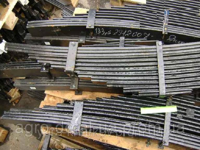 Рессора задняя 133Д-2912007 со стяжными хомутами автомобиля ЗИЛ-133 ГЯ