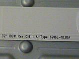 """Світлодіодні LED-лінійки 32"""" ROW Rev 0.6 1 A_B-Type (матриця LC320DXN-SER3)., фото 4"""