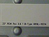 """Світлодіодні LED-лінійки 32"""" ROW Rev 0.6 1 A_B-Type (матриця LC320DXN-SER3)., фото 7"""