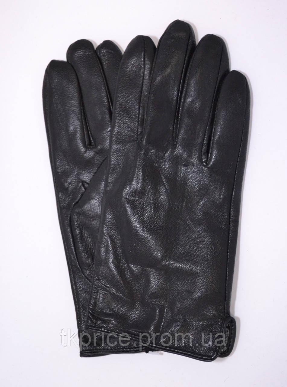 Подростковые кожаные перчатки с плюшевой подкладкой