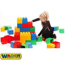 Конструктор строительный 45 блоков XXL Wader 37510, фото 3