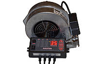 Polster C-11 и вентилятор X2 комплект автоматики для котлов на твердом топливе