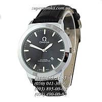 Мужские наручные часы Omega Chronometer Black/Silver/Black