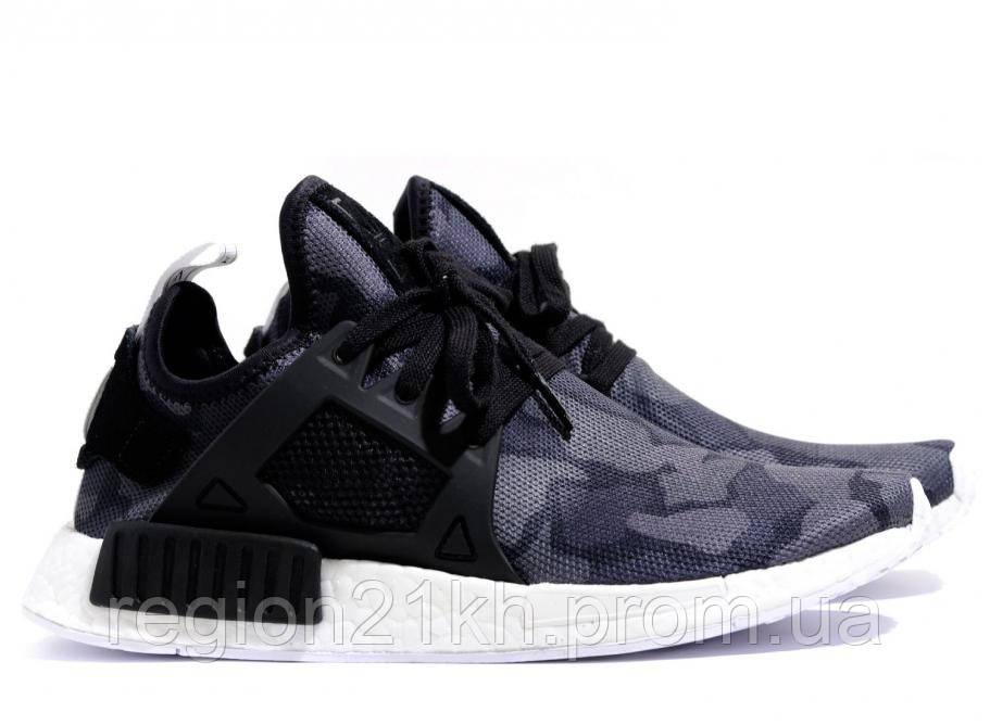 Кроссовки мужские Adidas NMD XR1 Duck Camo Black