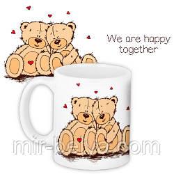 Кружка чашка на подарок LOVE IS