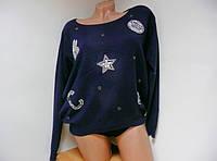 Кофта женская со  звездой  мышка   L/XL   S/M