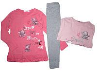 Комплект-двойка для девочки, размеры  3/4, 4/5, 5/6, 6/7, 7/8лет, GRACE, арт. G70590