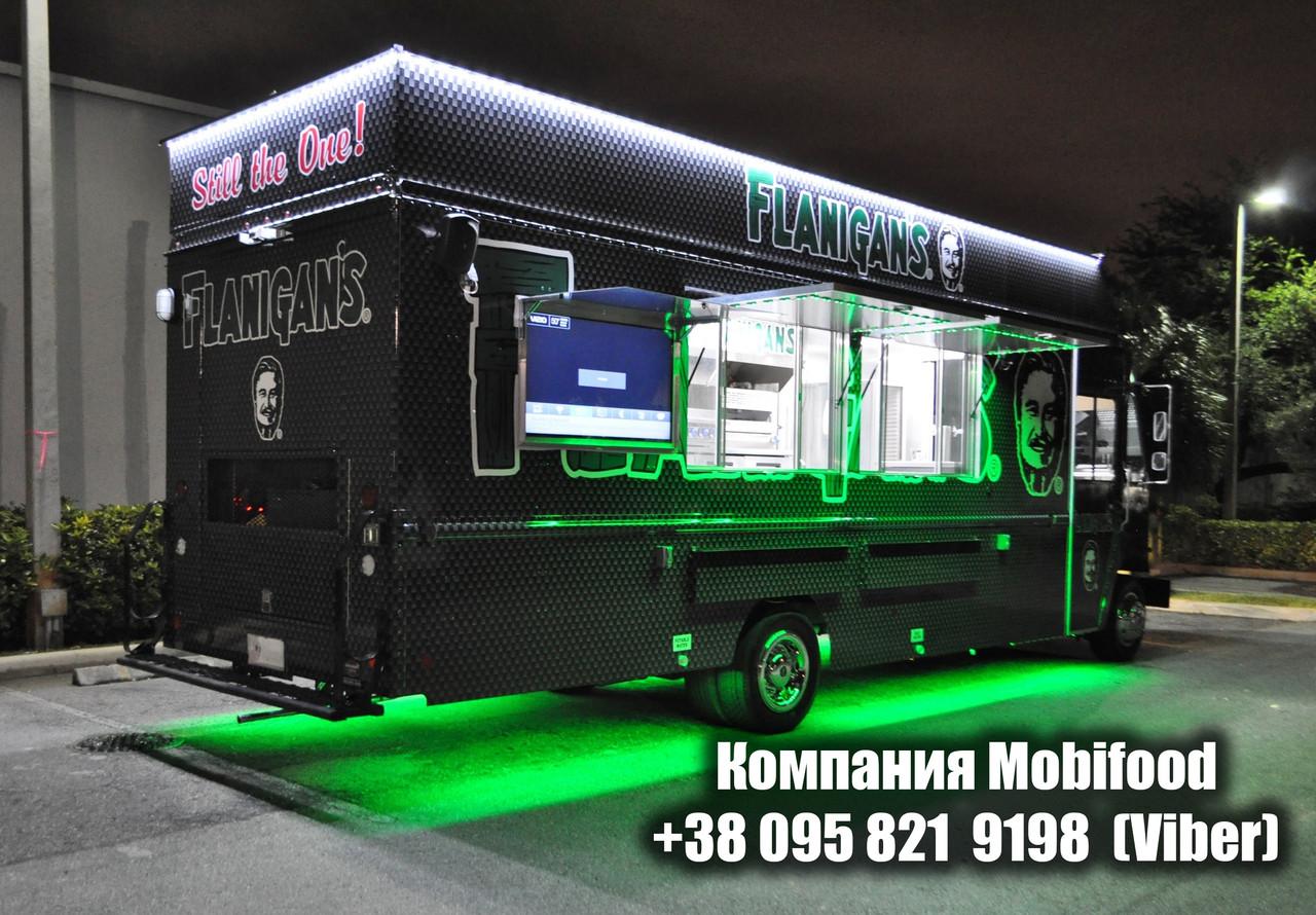 Разработка проекта Фуд Трак (Food Truck) - 200$.