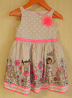 Платье детское Cherokee (Размер 110-116 см, 3-6 лет).
