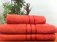 Махровое полотенце 70Х140  Кирпичное 400, фото 1