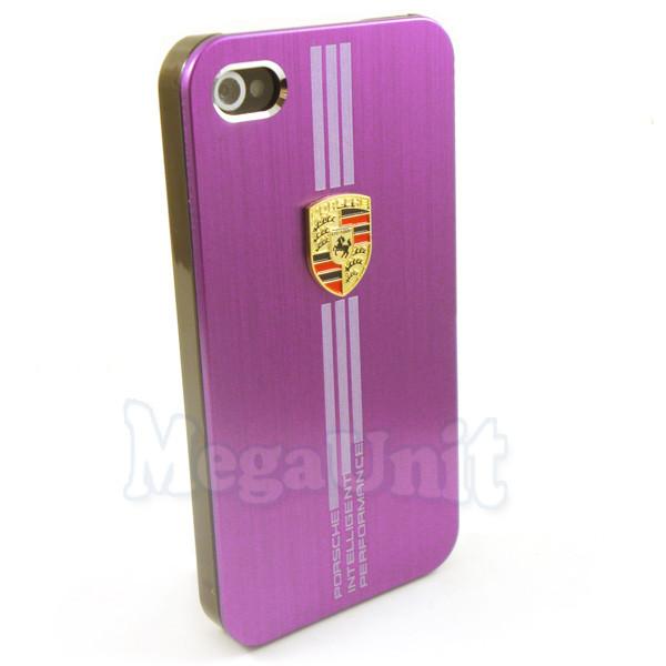 Porsche Алюминиевый чехол Apple Iphone 4 / 4S