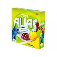 Настольная игра Элиас Alias с кубиками Еліас з кубиками Tactic 4+ от 2-4 игроков