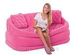 Надувний велюровий диван 68573 Intex, фото 2