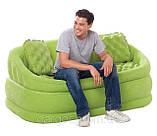Надувний велюровий диван 68573 Intex, фото 3