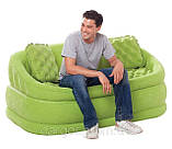 Надувной велюровый диван 68573 Intex, фото 3