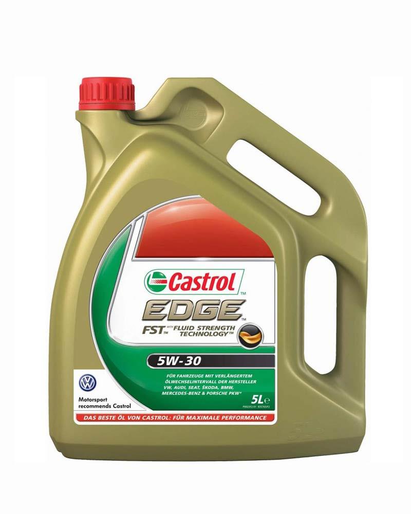Моторное масло Castrol EDGE 5W-30 FST 5л.