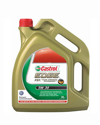 Моторное масло Castrol EDGE 5W-30 FST 5л., фото 2