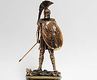 Статуэтка (фигурка) Воина со списом с медным покрытием