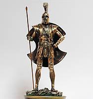 Статуэтка (фигурка) воина Ахиллес с медным покрытием