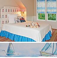 Штори в морському стилі для дитини