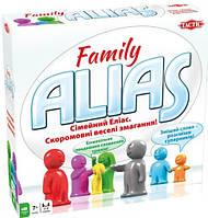 Настольная игра Семейный Элиас укр.язык Сімейний Еліас Tactic 7+ от 3-8 игроков