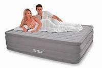 Надувная кровать Intex 66958(ортопедическая) Ultra Plush со встроенным електронасосом, фото 1