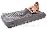 Надувная кровать-матрас +постель Intex 66998
