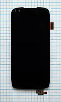 Модуль (дисплей + сенсор) Fly IQ4405 Evo Chic 1 black original